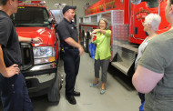 Fighting fire with knowledge: chamber tours fire department