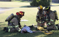 Mass casualty training involves area departments, county agencies