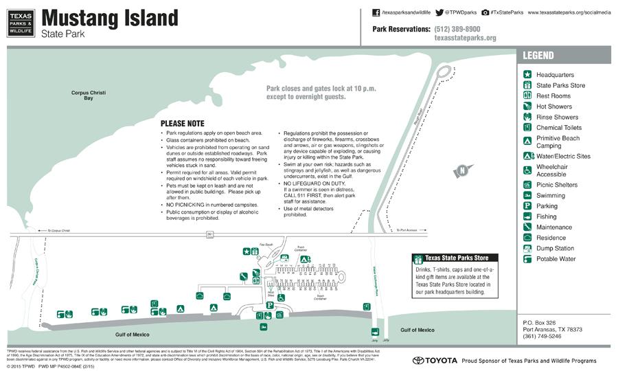 Port Aransas Beach Parking Map