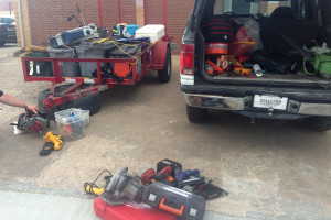 Several stolen items were recovered as six agencies worked together to bring justice.