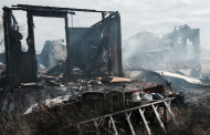 Fire injures one; home destroyed