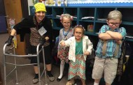 Lacy celebrates 100th day