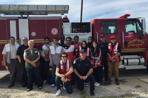 Princeton Fire Department, American Red Cross volunteers and the youth group from the Plano mosque of the Islamic Association of Collin County teamed up March 5 to install more than 100 smoke detectors in Princeton.