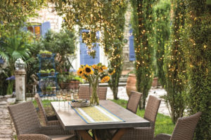 Creating an outdoor garden room can be accomplished even with limited space and budget.