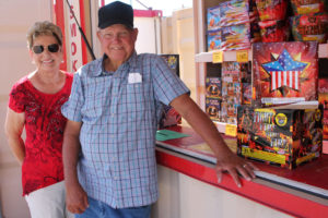 Lafon's fireworks owners Joann and Alvin Lafon are open and ready for business at their three locations in Greenville, Copeville and Branch.