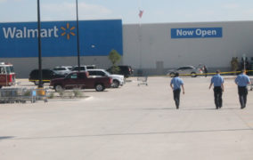 Two stabbed at Walmart