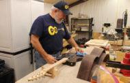 Blue Ridge man styles guitars