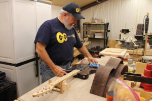 Craig Hopkins of Blue Ridge has turned his hobby of making guitars into a fulltime profession.