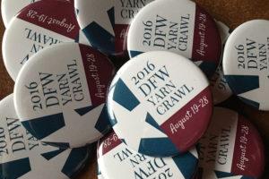 The DFW Yarn Crawl 2016 starts Aug. 19 and goes through Aug. 26.