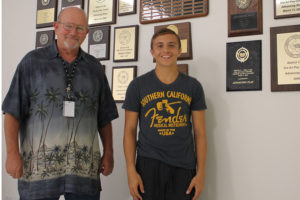 Debate teacher Mr. Jimmy Smith and PHS senior Michael Roets, Jr. will soon be traveling to Hawaii to compete in the Public Debate Forum, a competition with some of the best debaters in the world.