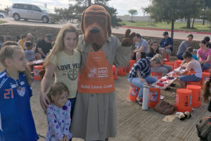 The Collin County Sheriff's Office joined forces with the Princeton High School Chapter of National Honor Society to allow the students to participate in community service projects.