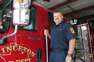 Michael Stilz is the new assistant fire chief for the Princeton Fire Department.