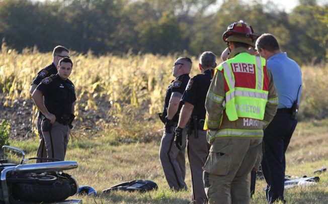 Motorcyclist killed in Thanksgiving Day accident