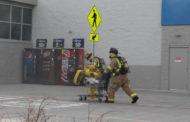 Arson suspect arrested after Walmart fire