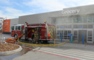 Walmart suffers severe damage after fire; suspect arrested