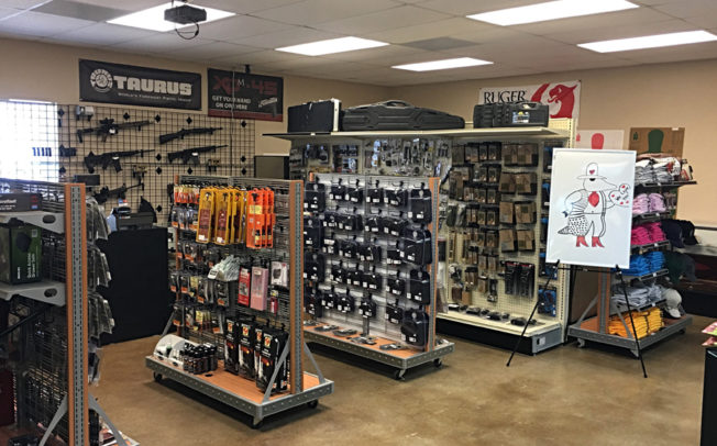 Armadillo Gun Store recognized by chamber for Member Spotlight