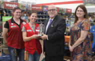Tractor Supply presented key to city