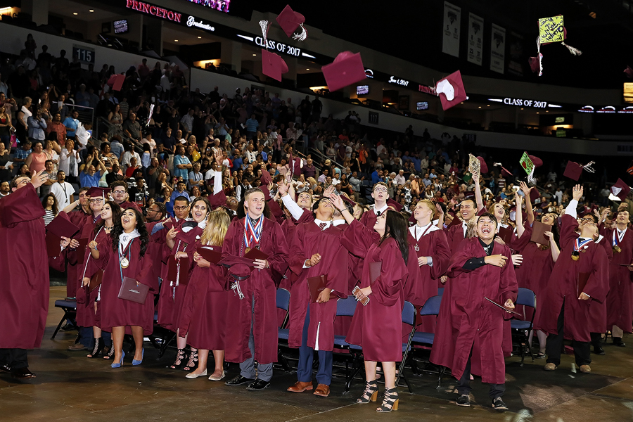 Class of 2017 walks stage in commencement ceremony