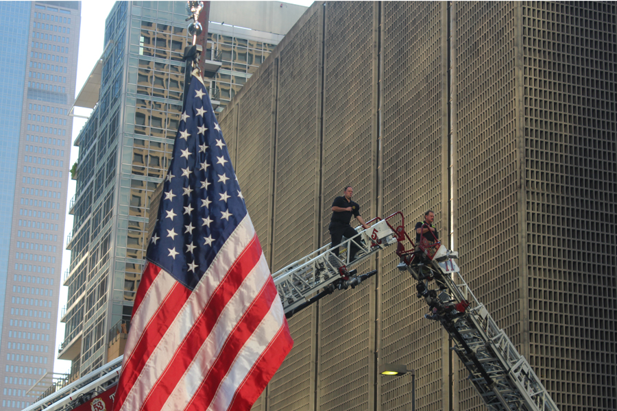 Collin County first responders climb their way to the top to honor fallen