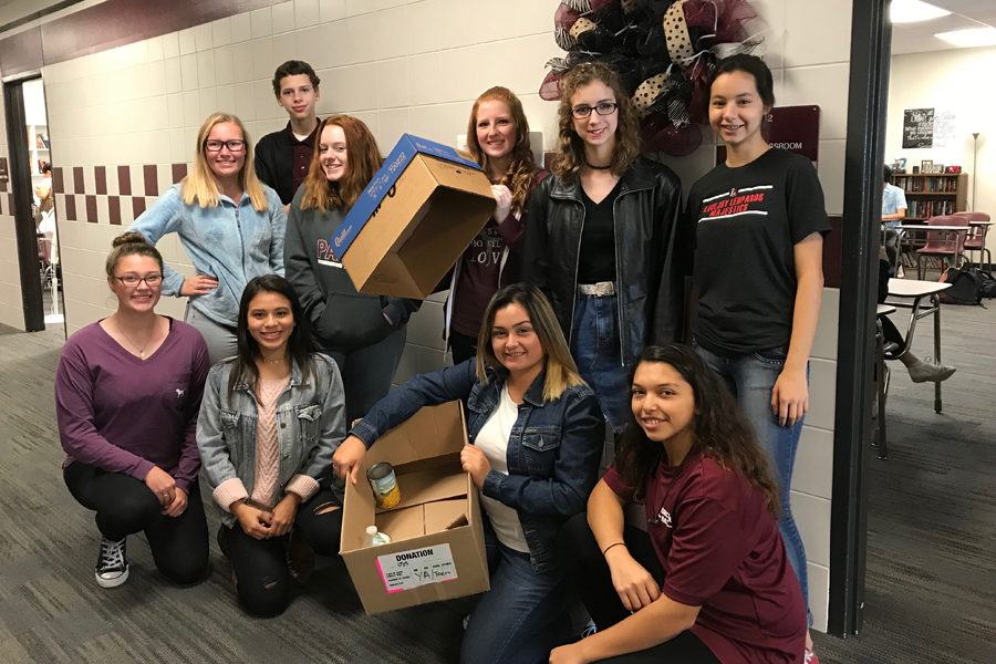 Princeton High School food drive underway