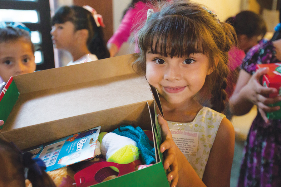 Operation Christmas Child: Blessings in a box delivered around the world