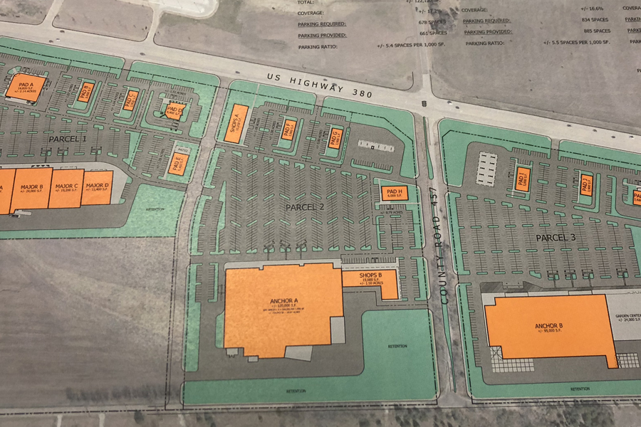 At a crossroad: large development receives approval