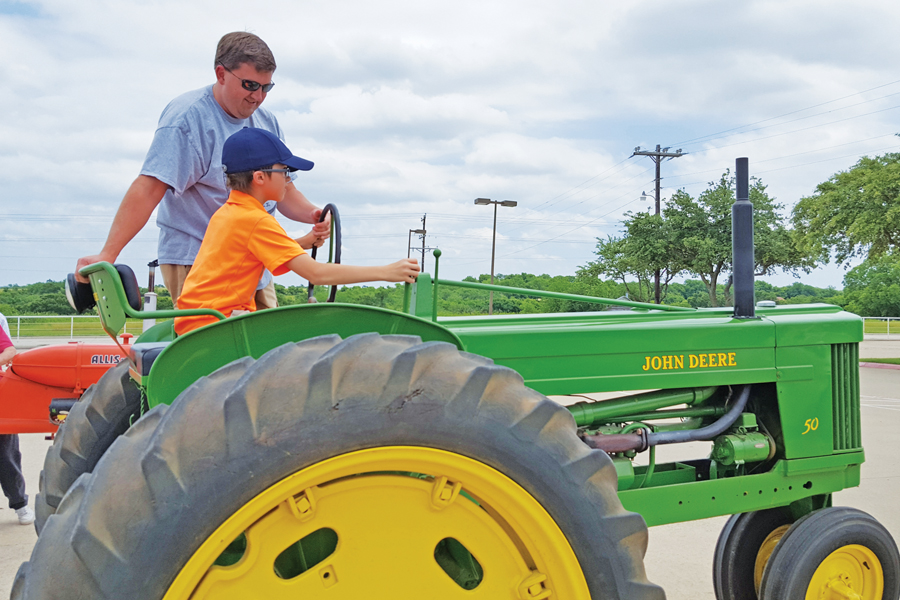 Teaching kids history through tractors, hands-on learning at Farm Museum