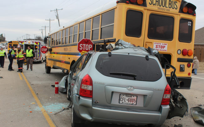 School bus wreck under investigation for possible DWI