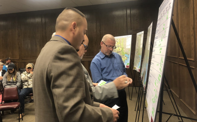 Results from Community Charrette discussed