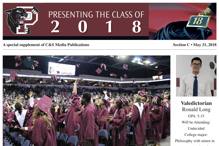 Copies of Princeton High Graduation Section available