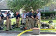 Multi-structure fire draws seven departments