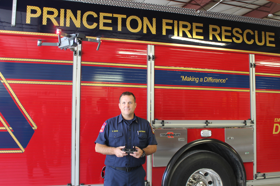 PFD utilizes drone on emergency scenes