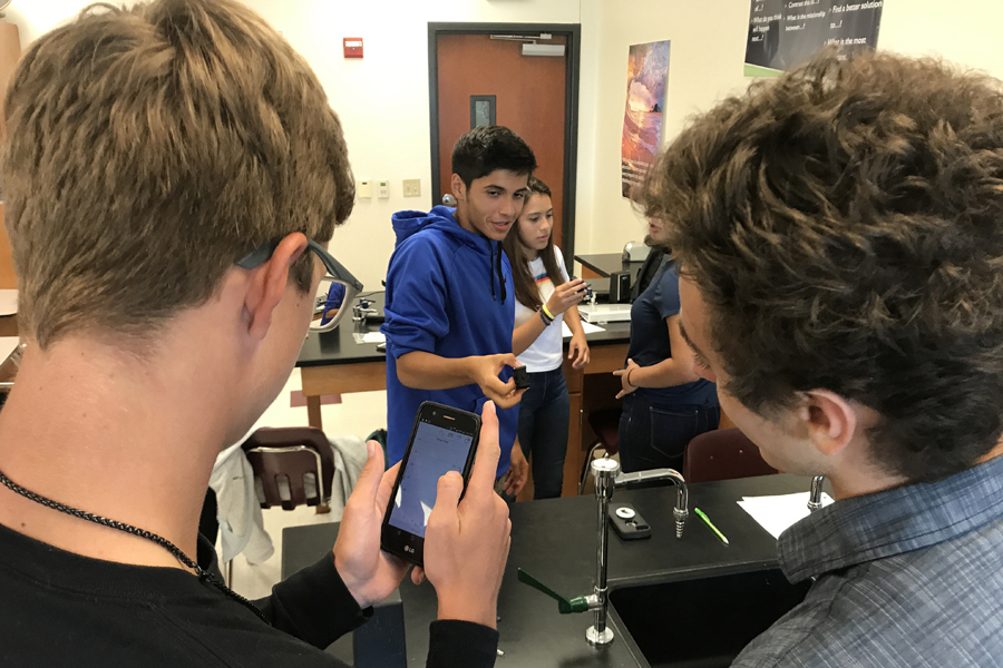 Teacher grant helps make learning physics fun