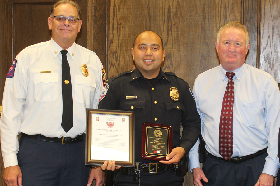 First responders recognized with life-saving awards