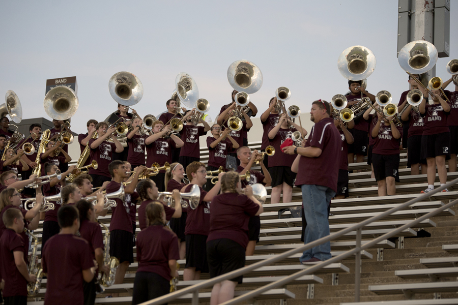 PHS band entertains fans