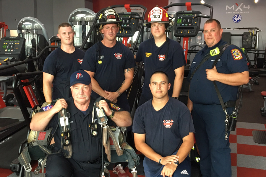 110 flights climbed by Princeton, Lowry Crossing in honor of 9/11