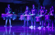 Video: School spirit shines during black light pep rally