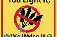 Fireworks prohibited on New Year's Eve; designated drivers encouraged