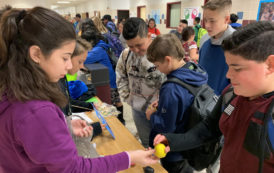 Sixth graders fund Angel tree with Shark Tank projects
