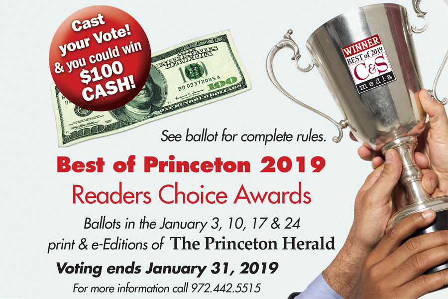 Best of Princeton ballot now online