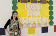 Students' artistic endeavors featured in Lacy Art Gallery