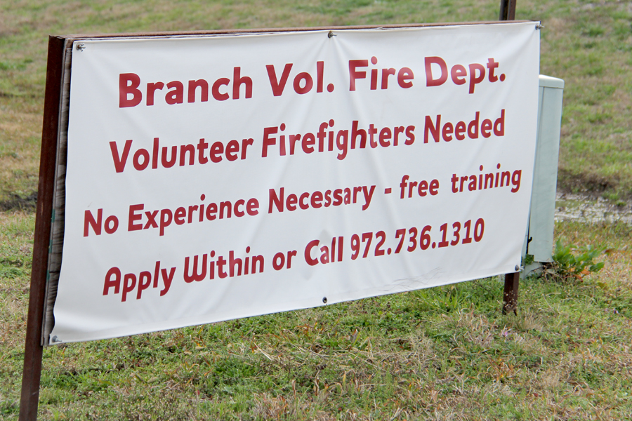 Urgent need for volunteer firefighters