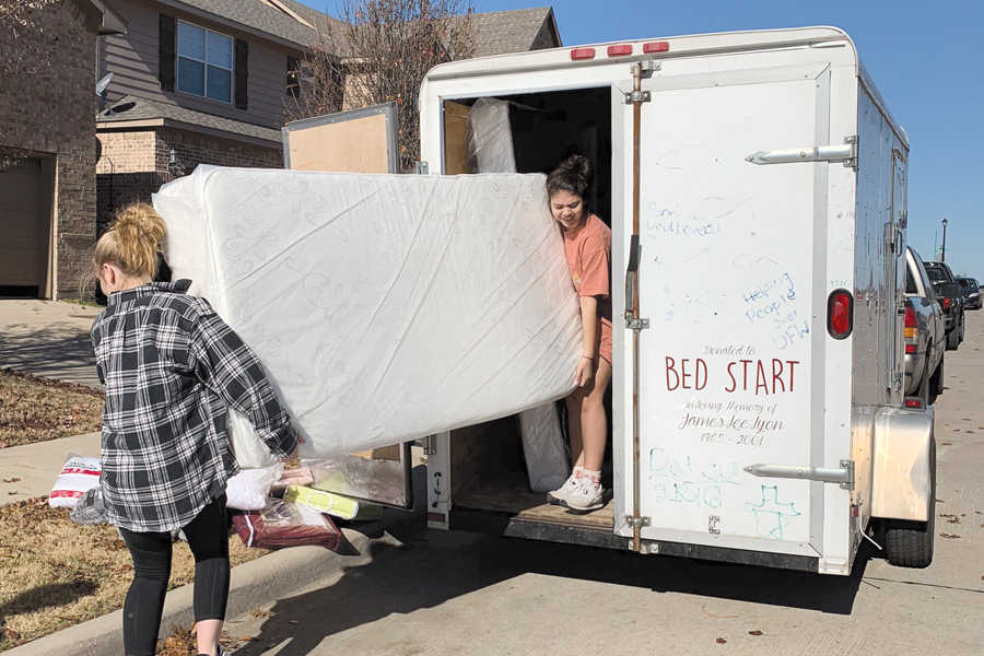 Church partners with BedStart to fill furniture needs