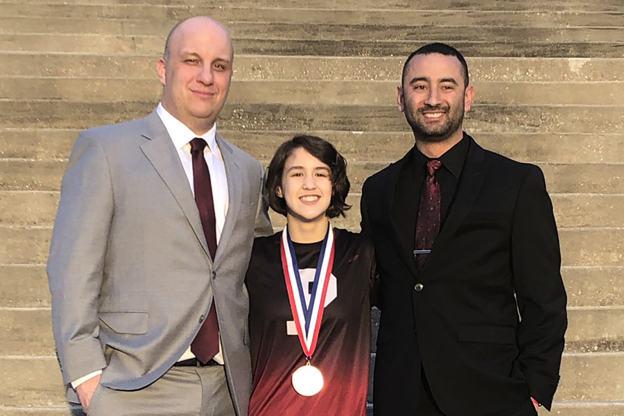 Twice as sweet: Morrison grapples to second state medal
