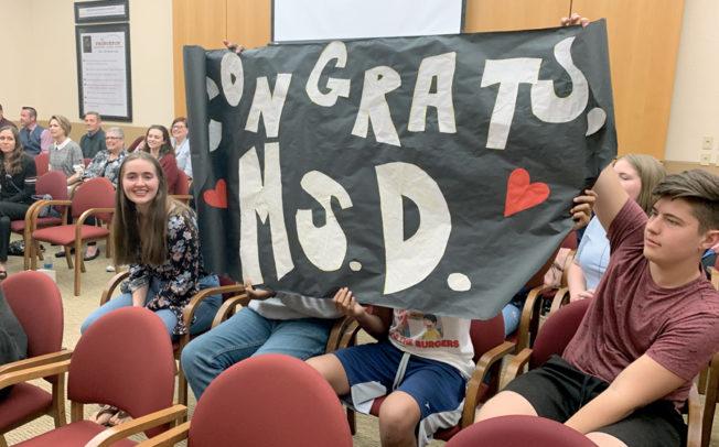 Secondary teachers receive annual awards