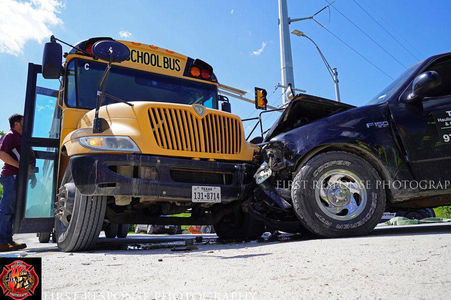 School bus accident results in one injury