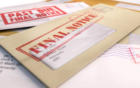 Tax notices going in mail