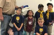 Lion Scouts aid Samaritan Inn
