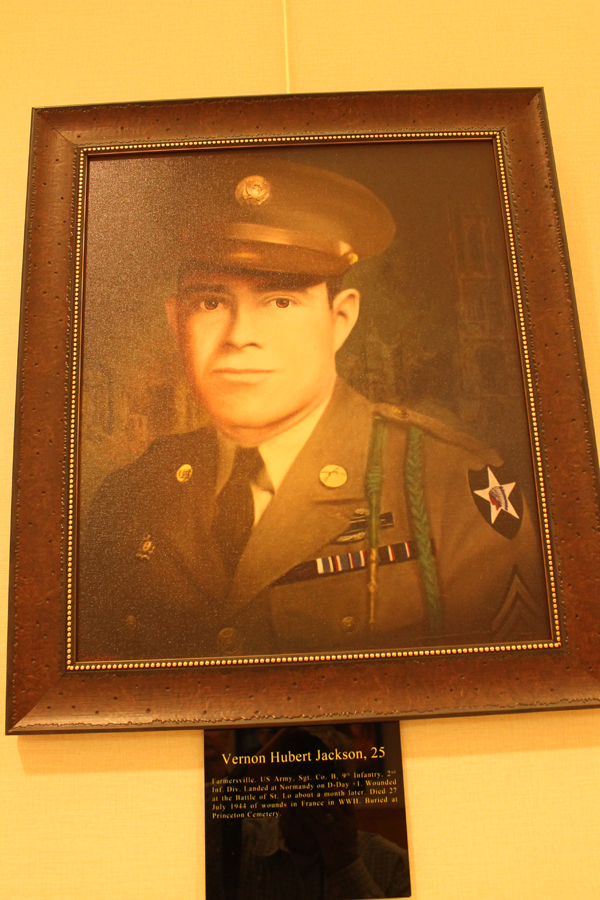 Soldier remembered with portrait