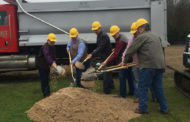 Cowboy Church breaks ground